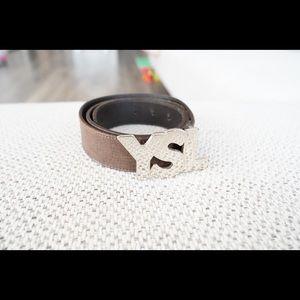 Yves Saint Laurent Accessories - Yves Saint Laurent Logo Belt